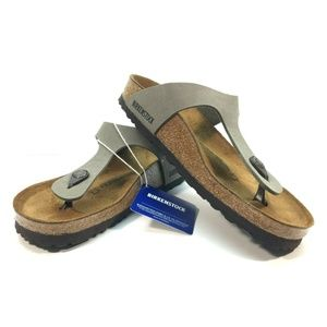Birkenstock Gizeh Sandal Thong Stone Size 7